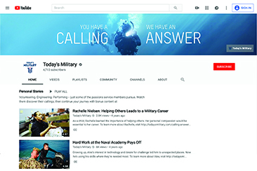 YouTube: Today's Military